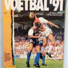Álbum de fútbol completo: ALBUM PANINI. - VOETBAL 91 - #. Lote 177002400