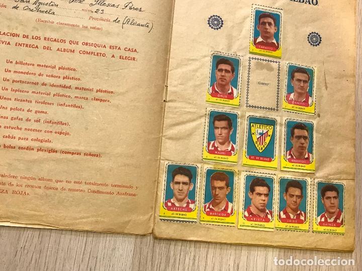 Álbum de fútbol completo: album de cromos de futbol cabeza roja, 1955-1956, de espinardo murcia - Foto 3 - 177077193