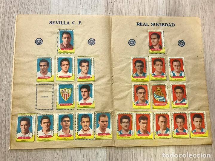 Álbum de fútbol completo: album de cromos de futbol cabeza roja, 1955-1956, de espinardo murcia - Foto 6 - 177077193
