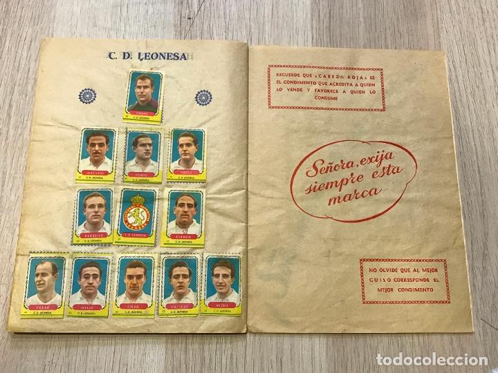 Álbum de fútbol completo: album de cromos de futbol cabeza roja, 1955-1956, de espinardo murcia - Foto 11 - 177077193