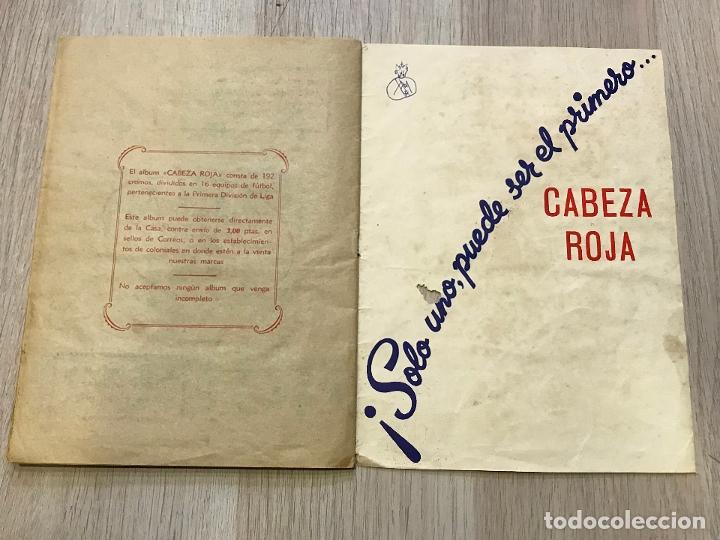 Álbum de fútbol completo: album de cromos de futbol cabeza roja, 1955-1956, de espinardo murcia - Foto 12 - 177077193