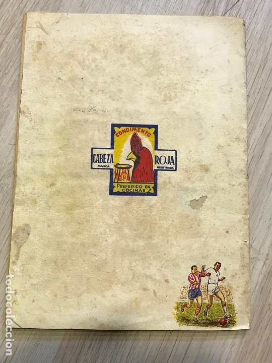 Álbum de fútbol completo: album de cromos de futbol cabeza roja, 1955-1956, de espinardo murcia - Foto 13 - 177077193