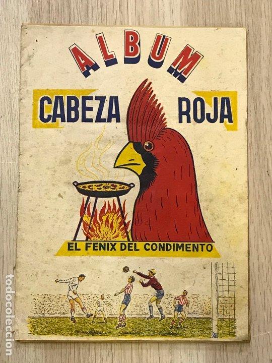 ALBUM DE CROMOS DE FUTBOL CABEZA ROJA, 1955-1956, DE ESPINARDO MURCIA (Coleccionismo Deportivo - Álbumes y Cromos de Deportes - Álbumes de Fútbol Completos)