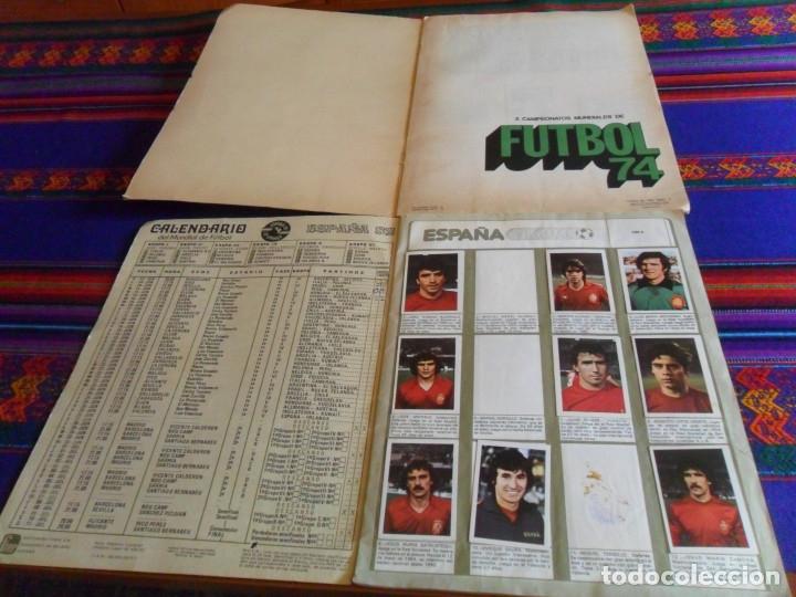 Álbum de fútbol completo: MUNICH 74 FHER COMPLETO, ESPAÑA 82 FHER INCOMPLETO REGALO ITALIA 90 PANINI INCOMPLETO MUNDIAL FÚTBOL - Foto 2 - 177119527