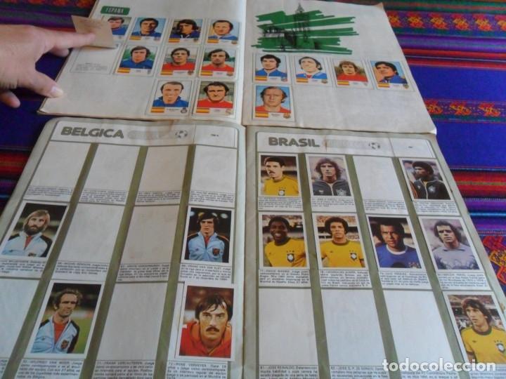 Álbum de fútbol completo: MUNICH 74 FHER COMPLETO, ESPAÑA 82 FHER INCOMPLETO REGALO ITALIA 90 PANINI INCOMPLETO MUNDIAL FÚTBOL - Foto 5 - 177119527