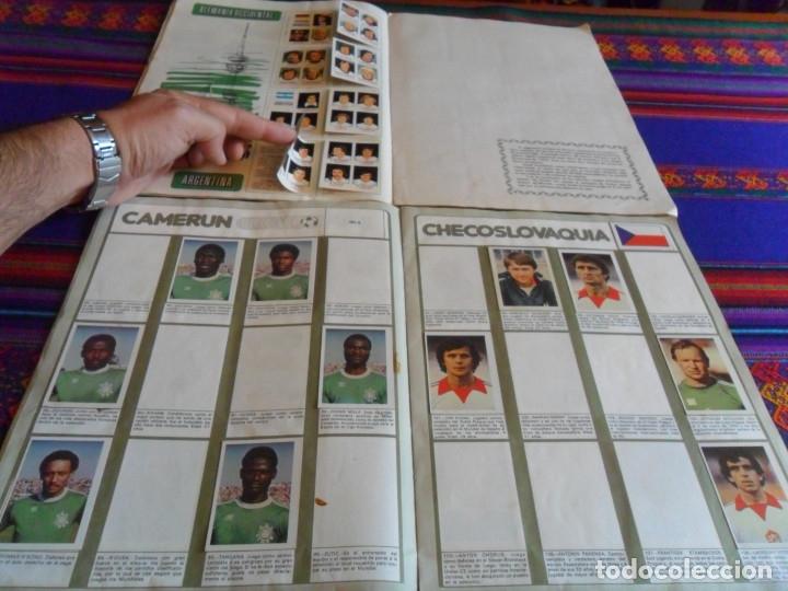 Álbum de fútbol completo: MUNICH 74 FHER COMPLETO, ESPAÑA 82 FHER INCOMPLETO REGALO ITALIA 90 PANINI INCOMPLETO MUNDIAL FÚTBOL - Foto 6 - 177119527