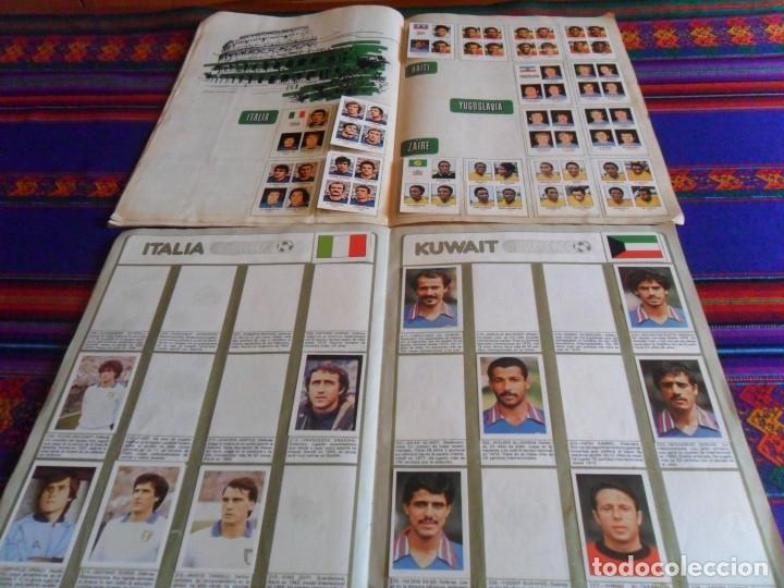 Álbum de fútbol completo: MUNICH 74 FHER COMPLETO, ESPAÑA 82 FHER INCOMPLETO REGALO ITALIA 90 PANINI INCOMPLETO MUNDIAL FÚTBOL - Foto 11 - 177119527