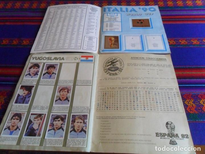 Álbum de fútbol completo: MUNICH 74 FHER COMPLETO, ESPAÑA 82 FHER INCOMPLETO REGALO ITALIA 90 PANINI INCOMPLETO MUNDIAL FÚTBOL - Foto 14 - 177119527