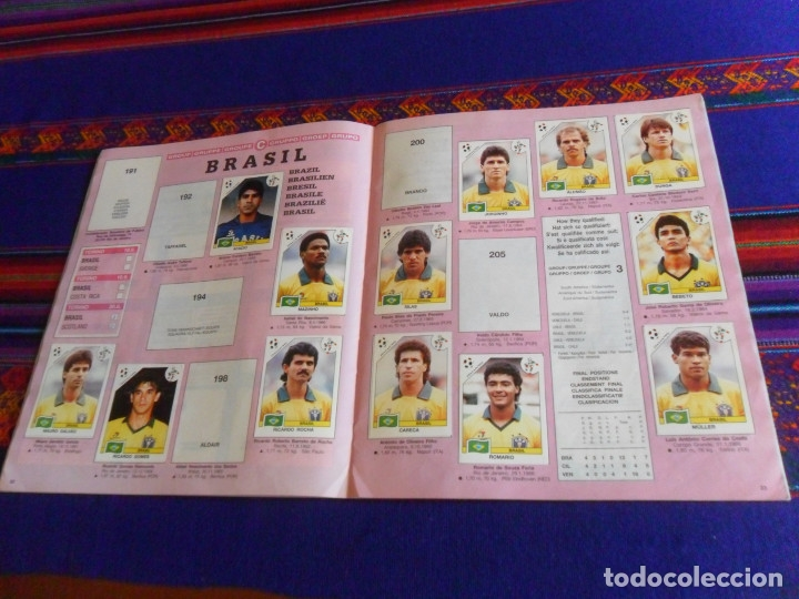 Álbum de fútbol completo: MUNICH 74 FHER COMPLETO, ESPAÑA 82 FHER INCOMPLETO REGALO ITALIA 90 PANINI INCOMPLETO MUNDIAL FÚTBOL - Foto 16 - 177119527