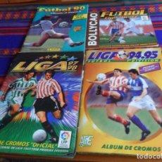 Álbum de fútbol completo: ESTE LIGA 94 95 Y 97 98 COMPLETO FUTBOL 96 97 BOLLYCAO INCOMPLETO REGALO FUTBOL 90 PANINI INCOMPLETO. Lote 177123450