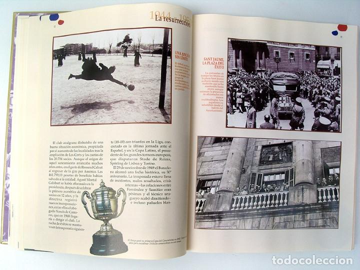 Álbum de fútbol completo: Lote Barcelona: Libro de oro Barsa 1899 1995, Cromos historicos 1973 a 1999 y POSTER FINAL CHAMPIONS - Foto 5 - 135738799