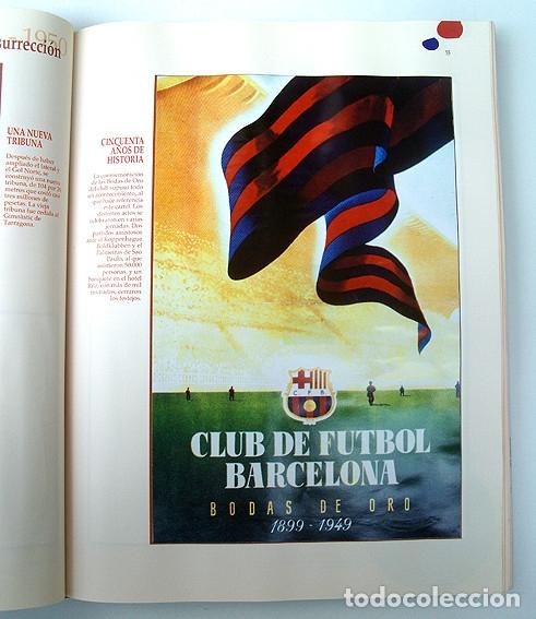 Álbum de fútbol completo: Lote Barcelona: Libro de oro Barsa 1899 1995, Cromos historicos 1973 a 1999 y POSTER FINAL CHAMPIONS - Foto 6 - 135738799