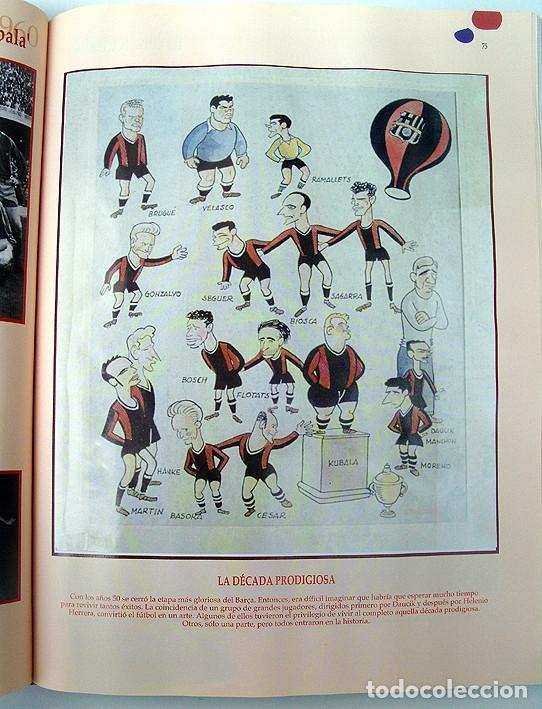 Álbum de fútbol completo: Lote Barcelona: Libro de oro Barsa 1899 1995, Cromos historicos 1973 a 1999 y POSTER FINAL CHAMPIONS - Foto 7 - 135738799