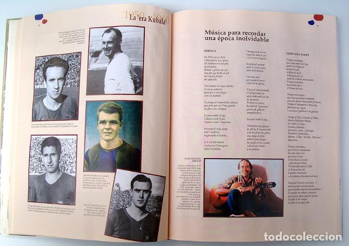 Álbum de fútbol completo: Lote Barcelona: Libro de oro Barsa 1899 1995, Cromos historicos 1973 a 1999 y POSTER FINAL CHAMPIONS - Foto 8 - 135738799