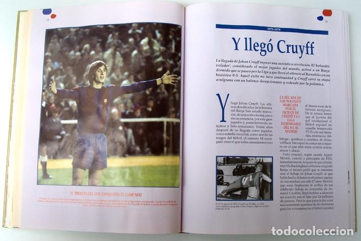 Álbum de fútbol completo: Lote Barcelona: Libro de oro Barsa 1899 1995, Cromos historicos 1973 a 1999 y POSTER FINAL CHAMPIONS - Foto 9 - 135738799