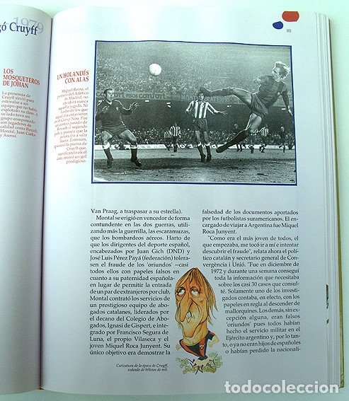 Álbum de fútbol completo: Lote Barcelona: Libro de oro Barsa 1899 1995, Cromos historicos 1973 a 1999 y POSTER FINAL CHAMPIONS - Foto 10 - 135738799