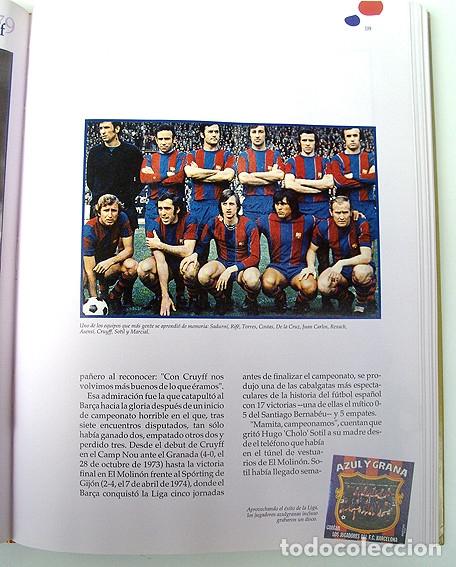 Álbum de fútbol completo: Lote Barcelona: Libro de oro Barsa 1899 1995, Cromos historicos 1973 a 1999 y POSTER FINAL CHAMPIONS - Foto 11 - 135738799