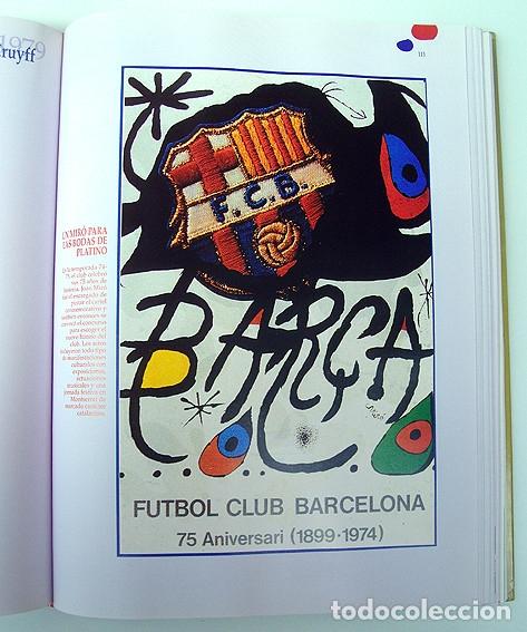 Álbum de fútbol completo: Lote Barcelona: Libro de oro Barsa 1899 1995, Cromos historicos 1973 a 1999 y POSTER FINAL CHAMPIONS - Foto 12 - 135738799
