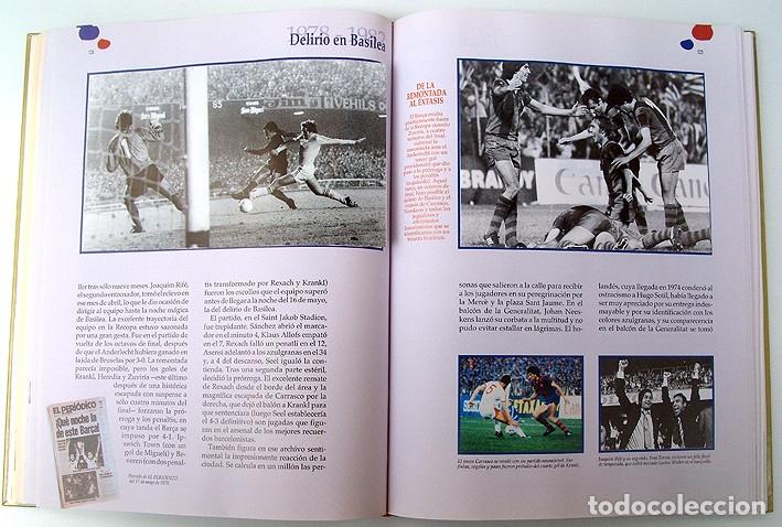Álbum de fútbol completo: Lote Barcelona: Libro de oro Barsa 1899 1995, Cromos historicos 1973 a 1999 y POSTER FINAL CHAMPIONS - Foto 13 - 135738799