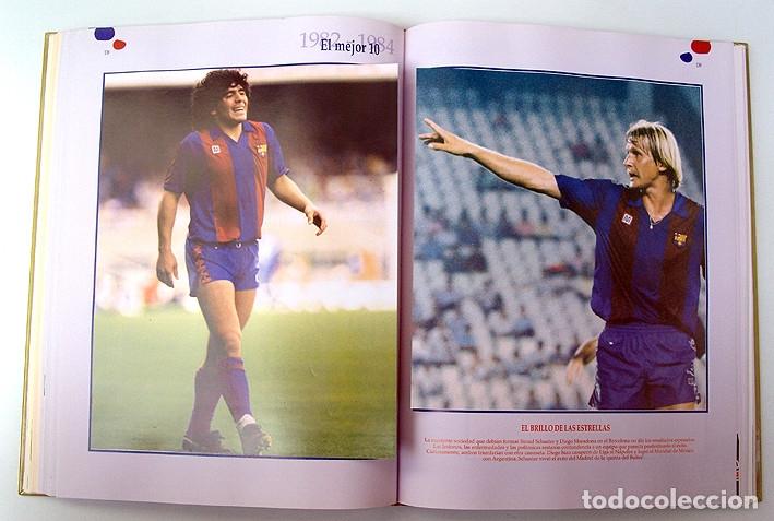 Álbum de fútbol completo: Lote Barcelona: Libro de oro Barsa 1899 1995, Cromos historicos 1973 a 1999 y POSTER FINAL CHAMPIONS - Foto 14 - 135738799
