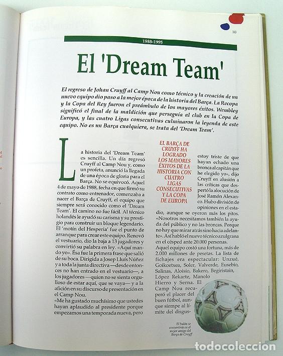 Álbum de fútbol completo: Lote Barcelona: Libro de oro Barsa 1899 1995, Cromos historicos 1973 a 1999 y POSTER FINAL CHAMPIONS - Foto 15 - 135738799