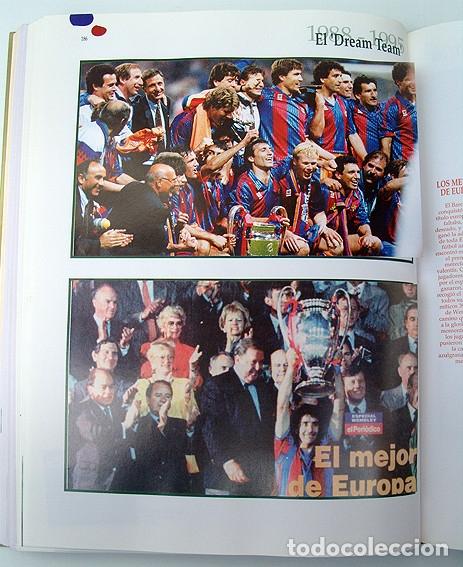 Álbum de fútbol completo: Lote Barcelona: Libro de oro Barsa 1899 1995, Cromos historicos 1973 a 1999 y POSTER FINAL CHAMPIONS - Foto 16 - 135738799