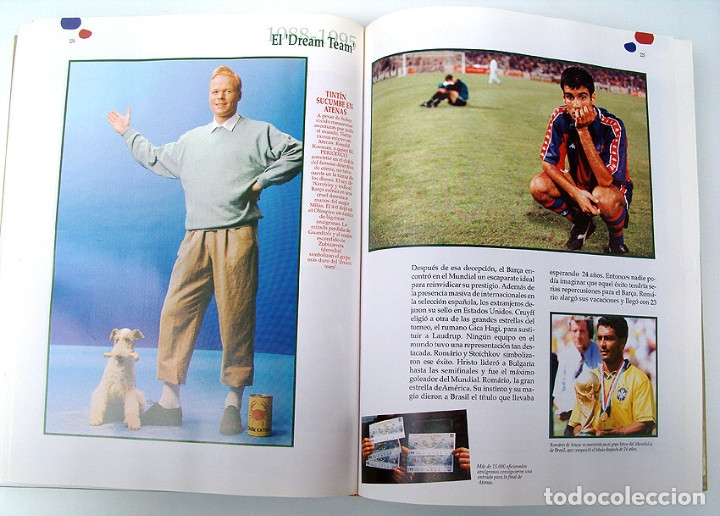 Álbum de fútbol completo: Lote Barcelona: Libro de oro Barsa 1899 1995, Cromos historicos 1973 a 1999 y POSTER FINAL CHAMPIONS - Foto 17 - 135738799