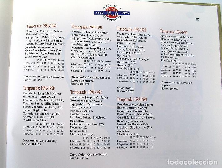 Álbum de fútbol completo: Lote Barcelona: Libro de oro Barsa 1899 1995, Cromos historicos 1973 a 1999 y POSTER FINAL CHAMPIONS - Foto 18 - 135738799