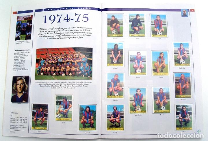 Álbum de fútbol completo: Lote Barcelona: Libro de oro Barsa 1899 1995, Cromos historicos 1973 a 1999 y POSTER FINAL CHAMPIONS - Foto 20 - 135738799
