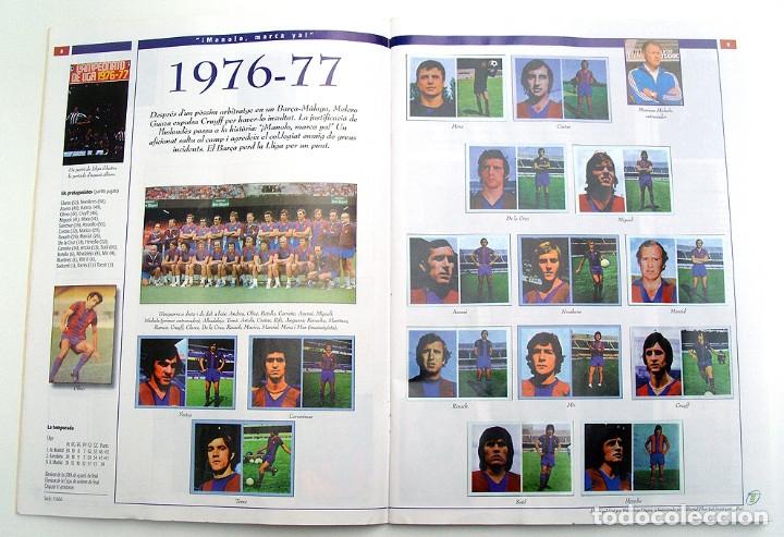 Álbum de fútbol completo: Lote Barcelona: Libro de oro Barsa 1899 1995, Cromos historicos 1973 a 1999 y POSTER FINAL CHAMPIONS - Foto 22 - 135738799