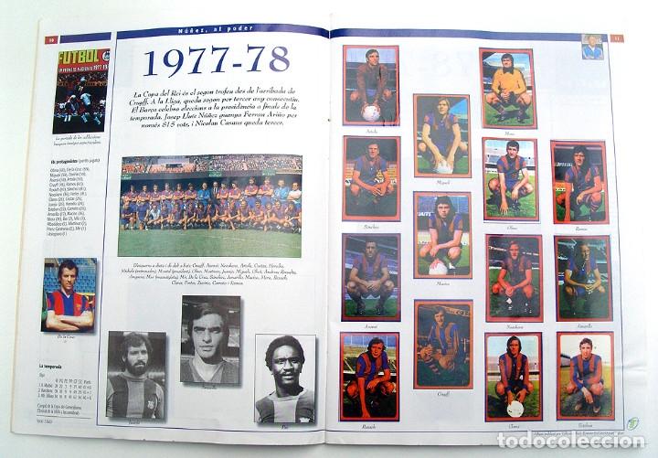 Álbum de fútbol completo: Lote Barcelona: Libro de oro Barsa 1899 1995, Cromos historicos 1973 a 1999 y POSTER FINAL CHAMPIONS - Foto 23 - 135738799