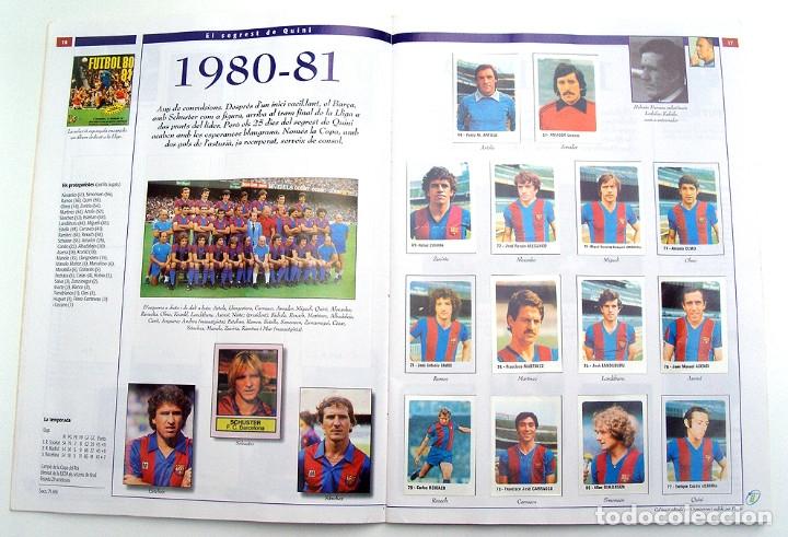 Álbum de fútbol completo: Lote Barcelona: Libro de oro Barsa 1899 1995, Cromos historicos 1973 a 1999 y POSTER FINAL CHAMPIONS - Foto 24 - 135738799