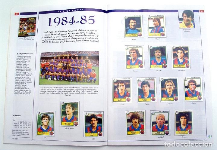 Álbum de fútbol completo: Lote Barcelona: Libro de oro Barsa 1899 1995, Cromos historicos 1973 a 1999 y POSTER FINAL CHAMPIONS - Foto 25 - 135738799