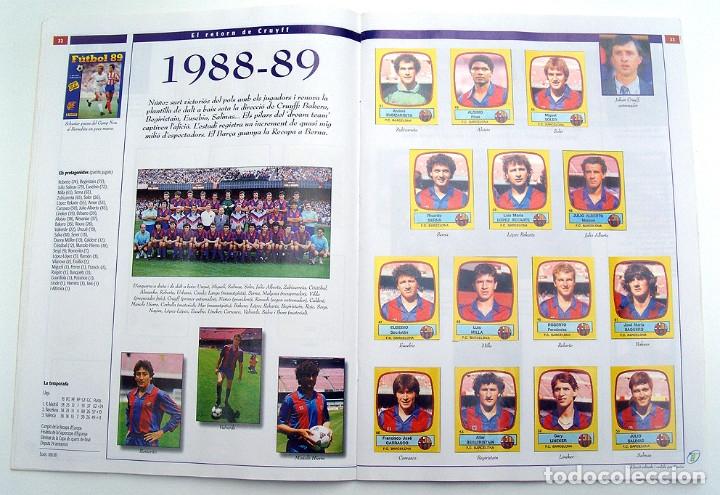 Álbum de fútbol completo: Lote Barcelona: Libro de oro Barsa 1899 1995, Cromos historicos 1973 a 1999 y POSTER FINAL CHAMPIONS - Foto 26 - 135738799