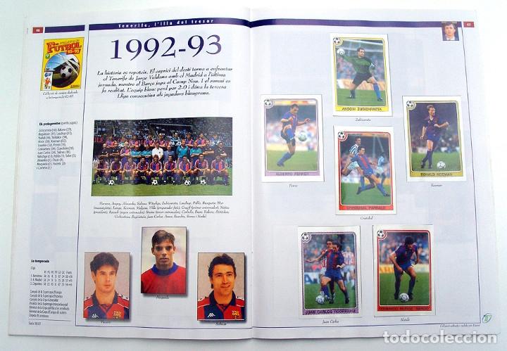 Álbum de fútbol completo: Lote Barcelona: Libro de oro Barsa 1899 1995, Cromos historicos 1973 a 1999 y POSTER FINAL CHAMPIONS - Foto 27 - 135738799