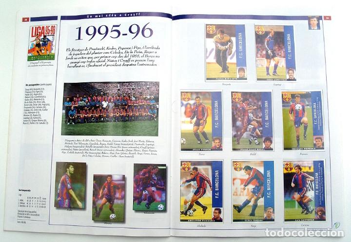 Álbum de fútbol completo: Lote Barcelona: Libro de oro Barsa 1899 1995, Cromos historicos 1973 a 1999 y POSTER FINAL CHAMPIONS - Foto 28 - 135738799