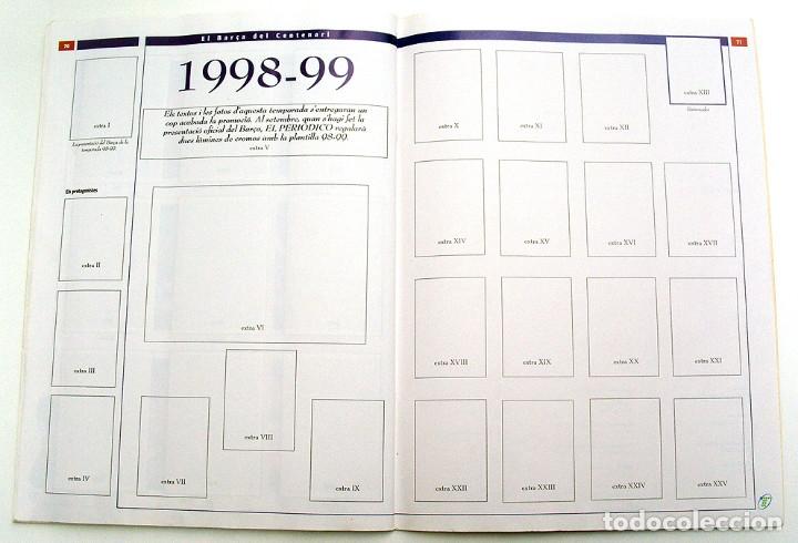 Álbum de fútbol completo: Lote Barcelona: Libro de oro Barsa 1899 1995, Cromos historicos 1973 a 1999 y POSTER FINAL CHAMPIONS - Foto 30 - 135738799