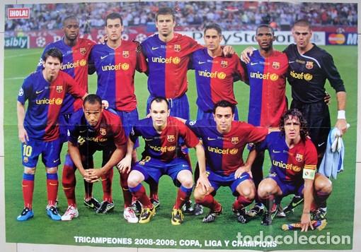 Álbum de fútbol completo: Lote Barcelona: Libro de oro Barsa 1899 1995, Cromos historicos 1973 a 1999 y POSTER FINAL CHAMPIONS - Foto 32 - 135738799