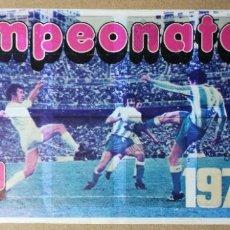Álbum de fútbol completo: ALBUM CROMOS ADHESIVOS FUTBOL LIGA 74 75. 1974 1975 . PIPAS TOSTAVAL GRAELL.. Lote 104725199