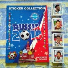 Álbum de fútbol completo: COPA MUNDIAL RUSSIA 2018 WORLD CUP TEKMA COLECCION COMPLETA TODOS CROMOS + ALBUM VACIO. Lote 177321429