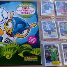 Álbum de fútbol completo: ROAD TO 2014 FIFA WORLD CUP BRAZIL PANINI COLECCION COMPLETA TODOS CROMOS + ALBUM VACIO. Lote 177322334