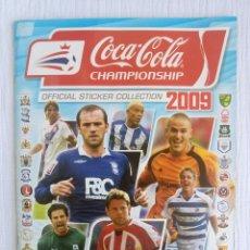 Álbum de fútbol completo: ALBUM PANINI. - COCA COLA CHAMPIONSHIP 2009 - #. Lote 177473433