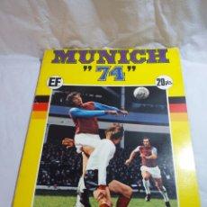 Álbum de fútbol completo: ALBUM CROMOS MUNDIAL 1974 MUNICH COMPLATO EDITORIAL FHER PERFECTO ESTADO VER FOTOS. Lote 177473637