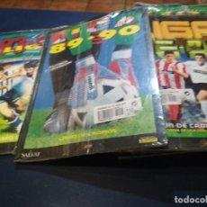 Álbum de fútbol completo: ALBUM FASCICULO SALVAT ESTE 89/90 CON SU REVISTA SIN DESEMBALAR. Lote 177557305