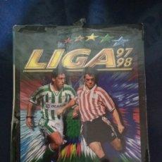 Álbum de fútbol completo: ALBUM FASCICULO SALVAT ESTE 97/98 CON SU REVISTA SIN DESEMBALAR. Lote 177557624