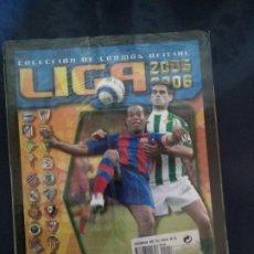 Álbum de fútbol completo: ALBUM FASCICULO SALVAT ESTE 05/06 CON SU REVISTA SIN DESEMBALAR. Lote 177557855