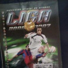 Álbum de fútbol completo: ALBUM FASCICULO SALVAT ESTE 00/07 CON SU REVISTA SIN DESEMBALAR. Lote 177557927