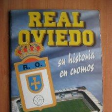 Álbum de fútbol completo: ALBUM: REAL OVIEDO 1995 - SU HISTORIA EN CROMOS - CROMOSOL - COMPLETO - BUENISIMO ESTADO. Lote 177595869