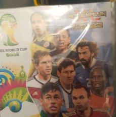 Álbum de fútbol completo: FIFA WORLD CUP BRASIL 2014 DE ADRENALYN XL – ALBUM 2 COMPLETO. Lote 177645613