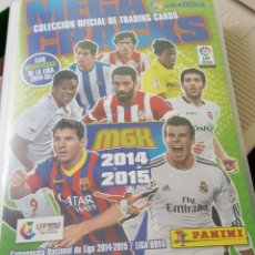 Álbum de fútbol completo: MEGACRACKS 2014-2015 – ALBUM COMPLETO. Lote 177650629